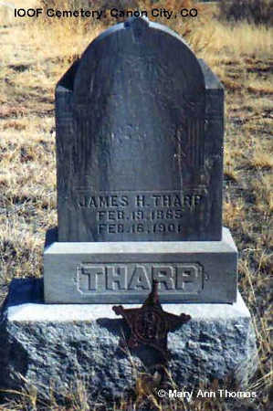 THARP, JAMES H. - Fremont County, Colorado | JAMES H. THARP - Colorado Gravestone Photos