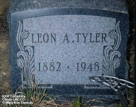 TYLER, LEON A. - Fremont County, Colorado | LEON A. TYLER - Colorado Gravestone Photos