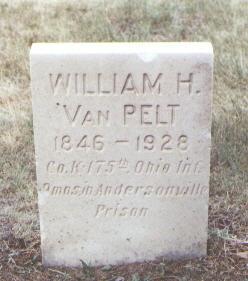 VAN PELT, WILLIAM H. - Fremont County, Colorado | WILLIAM H. VAN PELT - Colorado Gravestone Photos
