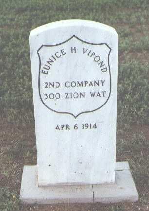 VIPOND, EUNICE H. - Fremont County, Colorado | EUNICE H. VIPOND - Colorado Gravestone Photos