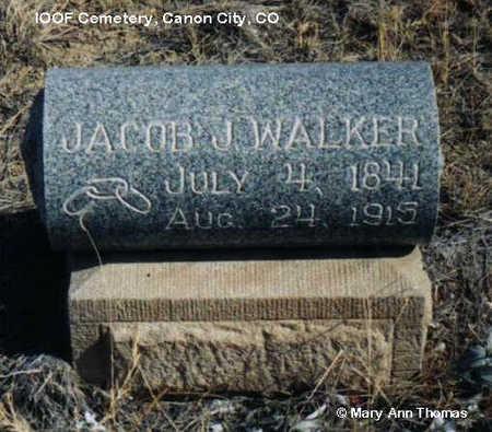 WALKER, JACOB J. - Fremont County, Colorado | JACOB J. WALKER - Colorado Gravestone Photos