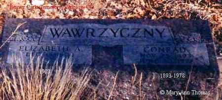 WAWRZYCZNY, ELIZABETH A. - Fremont County, Colorado | ELIZABETH A. WAWRZYCZNY - Colorado Gravestone Photos