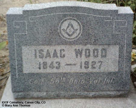 WOOD, ISAAC - Fremont County, Colorado | ISAAC WOOD - Colorado Gravestone Photos