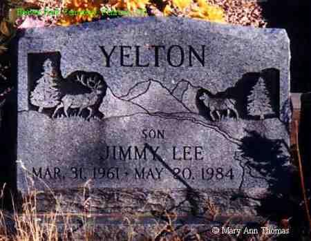 YELTON, JIMMY LEE - Fremont County, Colorado | JIMMY LEE YELTON - Colorado Gravestone Photos