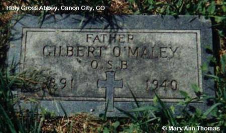 O'MALEY, GILBERT - Fremont County, Colorado | GILBERT O'MALEY - Colorado Gravestone Photos