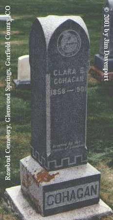 COHAGAN, CLARA E. - Garfield County, Colorado   CLARA E. COHAGAN - Colorado Gravestone Photos