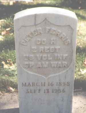 FERRIS, PETER - Garfield County, Colorado | PETER FERRIS - Colorado Gravestone Photos