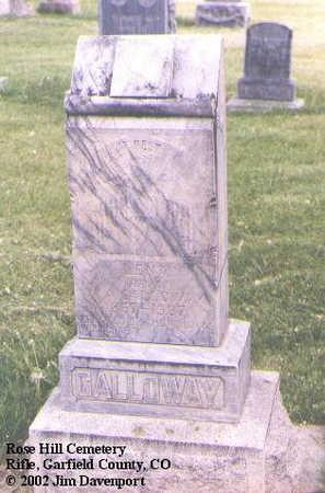 GALLOWAY, LENA - Garfield County, Colorado | LENA GALLOWAY - Colorado Gravestone Photos