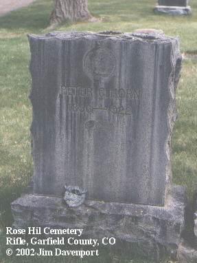 HORN, PETER C. - Garfield County, Colorado | PETER C. HORN - Colorado Gravestone Photos
