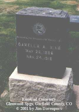 KING, OAKELLA - Garfield County, Colorado | OAKELLA KING - Colorado Gravestone Photos