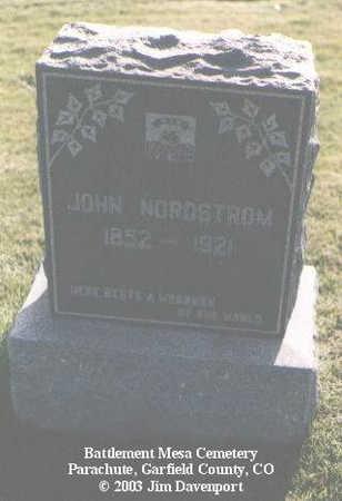 NORDSTROM, JOHN - Garfield County, Colorado | JOHN NORDSTROM - Colorado Gravestone Photos