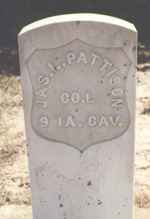 PATTISON, JAS. L. - Garfield County, Colorado | JAS. L. PATTISON - Colorado Gravestone Photos