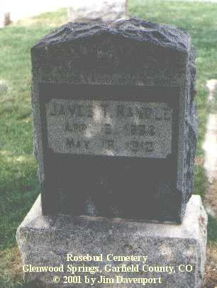 RANDLE, JAMES T. - Garfield County, Colorado | JAMES T. RANDLE - Colorado Gravestone Photos