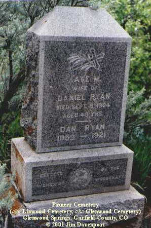 RYAN, DAN - Garfield County, Colorado | DAN RYAN - Colorado Gravestone Photos