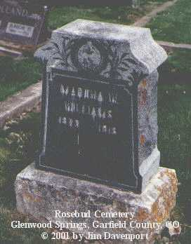 WILLIAMS, MARTHA W. - Garfield County, Colorado | MARTHA W. WILLIAMS - Colorado Gravestone Photos