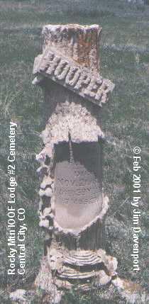 HOOPER, GEORGE - Gilpin County, Colorado | GEORGE HOOPER - Colorado Gravestone Photos