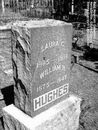 HUGHES, LAURA C. - Gilpin County, Colorado | LAURA C. HUGHES - Colorado Gravestone Photos