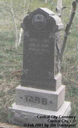 TABB, JOHN - Gilpin County, Colorado | JOHN TABB - Colorado Gravestone Photos