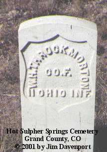 THROCKMORTON, W. H. - Grand County, Colorado | W. H. THROCKMORTON - Colorado Gravestone Photos