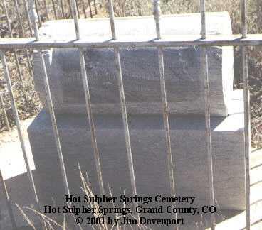 TOOHEY, HUGH M. - Grand County, Colorado   HUGH M. TOOHEY - Colorado Gravestone Photos