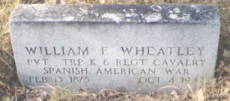 WHEATLEY, WILLIAM F. - Grand County, Colorado | WILLIAM F. WHEATLEY - Colorado Gravestone Photos