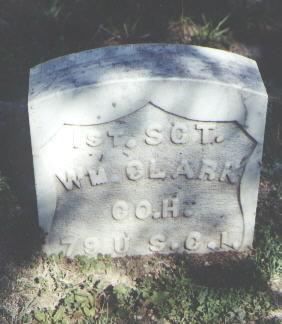 CLARK, WM. - Gunnison County, Colorado   WM. CLARK - Colorado Gravestone Photos