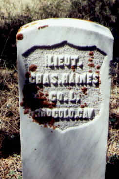 HAINES, CHAS. - Gunnison County, Colorado | CHAS. HAINES - Colorado Gravestone Photos