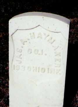 HAYMAKER, JAS. A. - Gunnison County, Colorado | JAS. A. HAYMAKER - Colorado Gravestone Photos