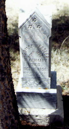 HESSLER, HERMAN - Gunnison County, Colorado | HERMAN HESSLER - Colorado Gravestone Photos