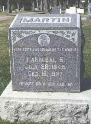 MARTIN, HANNIBAL S. - Gunnison County, Colorado | HANNIBAL S. MARTIN - Colorado Gravestone Photos