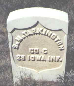 TARKINGTON, S. M. - Gunnison County, Colorado | S. M. TARKINGTON - Colorado Gravestone Photos