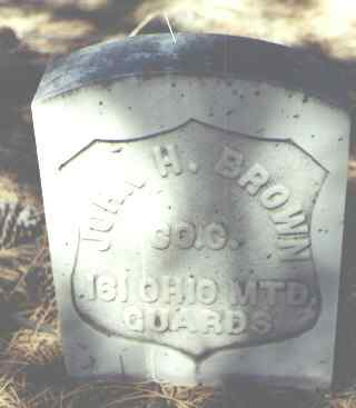 BROWN, JOHN H. - Hinsdale County, Colorado | JOHN H. BROWN - Colorado Gravestone Photos