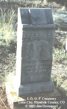 KIRKER, JOSIAH S. - Hinsdale County, Colorado   JOSIAH S. KIRKER - Colorado Gravestone Photos