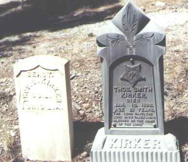 KIRKER, THOS. SMITH - Hinsdale County, Colorado | THOS. SMITH KIRKER - Colorado Gravestone Photos