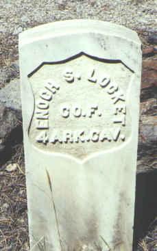LOCKET, ENOCH S. - Hinsdale County, Colorado | ENOCH S. LOCKET - Colorado Gravestone Photos