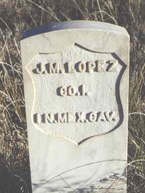 LOPEZ, J. M. - Huerfano County, Colorado | J. M. LOPEZ - Colorado Gravestone Photos