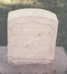 RICHARDSON, J. A. - Huerfano County, Colorado | J. A. RICHARDSON - Colorado Gravestone Photos