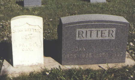 RITTER, JULIA - Huerfano County, Colorado | JULIA RITTER - Colorado Gravestone Photos