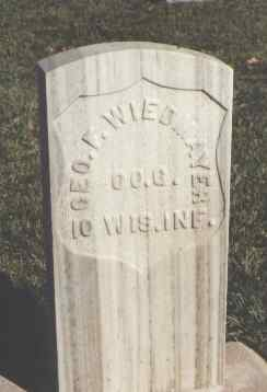 WEIDMAYER, GEO. F. - Huerfano County, Colorado | GEO. F. WEIDMAYER - Colorado Gravestone Photos