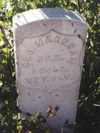 MARKHAM, GEO. - Huerfano County, Colorado | GEO. MARKHAM - Colorado Gravestone Photos