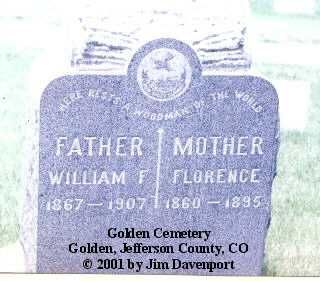 KIPFER, FLORENCE - Jefferson County, Colorado | FLORENCE KIPFER - Colorado Gravestone Photos