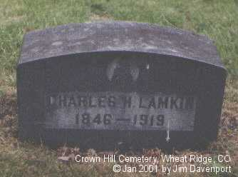 LAMKIN, CHARLES H. - Jefferson County, Colorado | CHARLES H. LAMKIN - Colorado Gravestone Photos