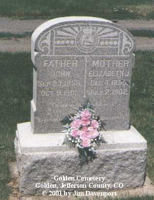 MARTIN, JOHN - Jefferson County, Colorado | JOHN MARTIN - Colorado Gravestone Photos