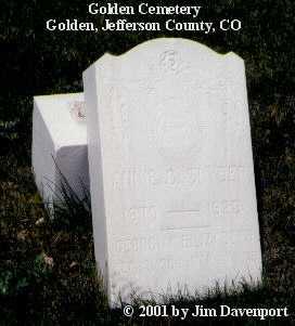SNYDER, GEORGIA ELIZABETH - Jefferson County, Colorado | GEORGIA ELIZABETH SNYDER - Colorado Gravestone Photos