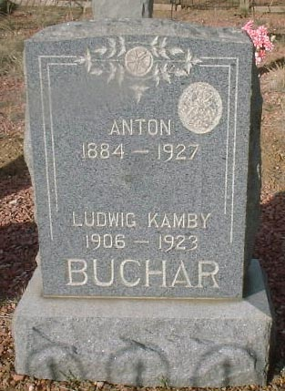 BUCHAR, ANTON - Lake County, Colorado | ANTON BUCHAR - Colorado Gravestone Photos