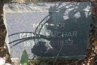 BUCHAR, MARY - Lake County, Colorado | MARY BUCHAR - Colorado Gravestone Photos