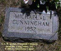 CUNNINGHAM, MICHAEL L. - Lake County, Colorado | MICHAEL L. CUNNINGHAM - Colorado Gravestone Photos