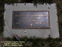 CUNNINGHAM, WILLIAM H. - Lake County, Colorado | WILLIAM H. CUNNINGHAM - Colorado Gravestone Photos