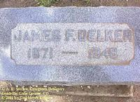 DELKER, JAMES F. - Lake County, Colorado | JAMES F. DELKER - Colorado Gravestone Photos