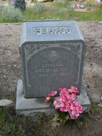 FERRY, CATHERINE - Lake County, Colorado | CATHERINE FERRY - Colorado Gravestone Photos